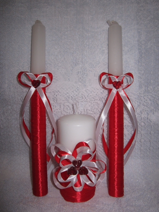 Мастер класс оформление свечей на свадьбу своими руками фото 28
